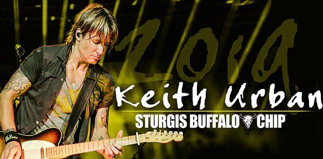 Keith Urban at Sturgis 2019