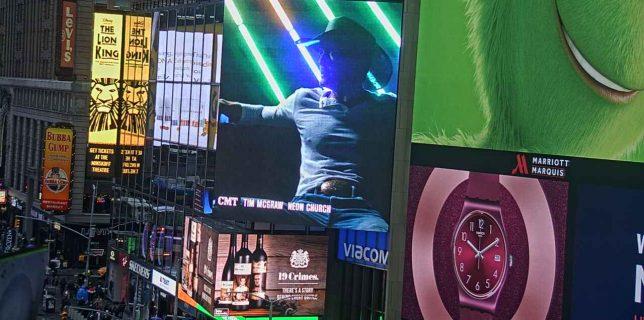 Tim McGraw Video for Neon Church